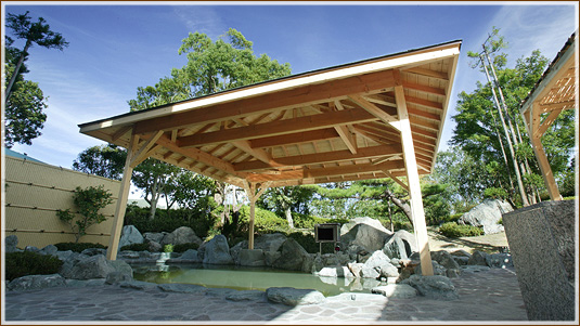 クラブハウス本館 天然温泉